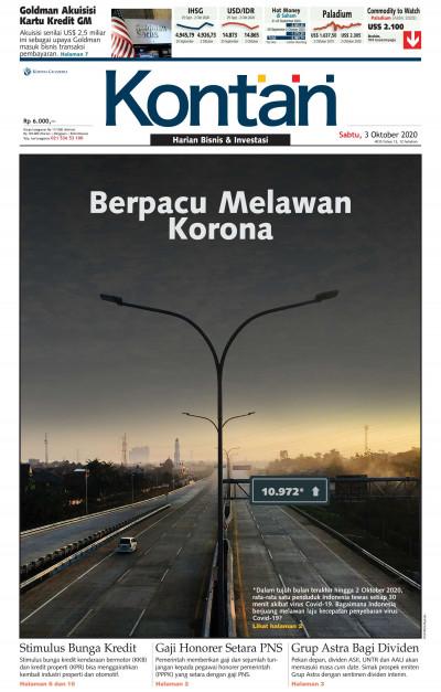 Kontan Harian - 03 Oktober 2020