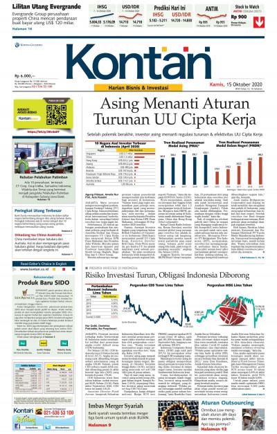 Kontan Harian - 15 Oktober 2020