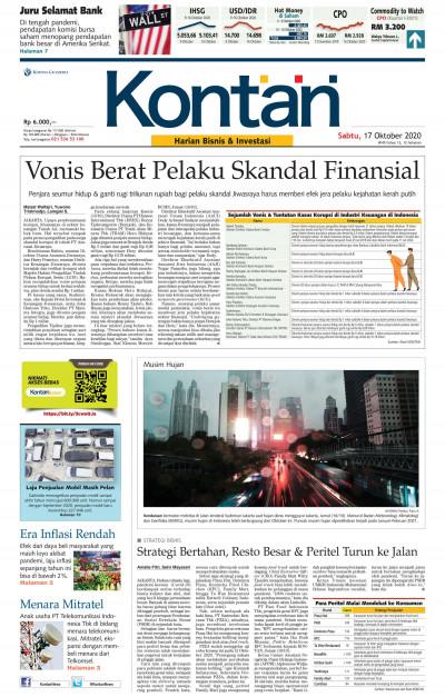 Kontan Harian - 17 Oktober 2020