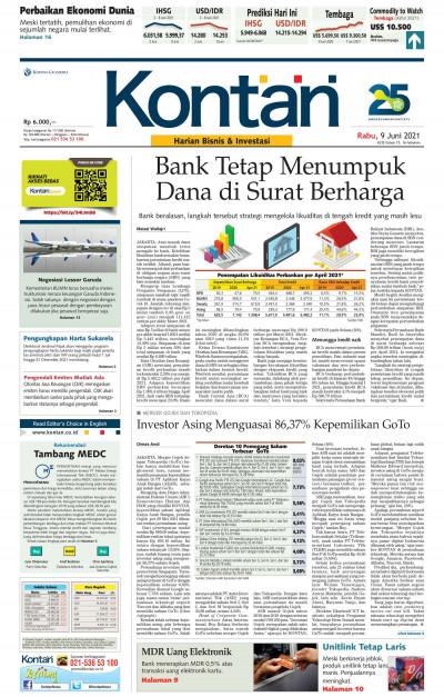 Kontan Harian - 09 Juni 2021