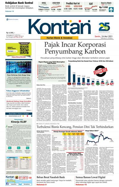 Kontan Harian - 24 Mei 2021