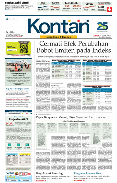 Kontan Harian - 04 Juni 2021