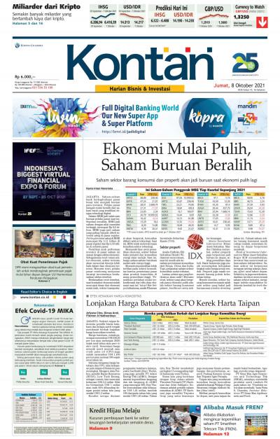Kontan Harian - 08 Oktober 2021