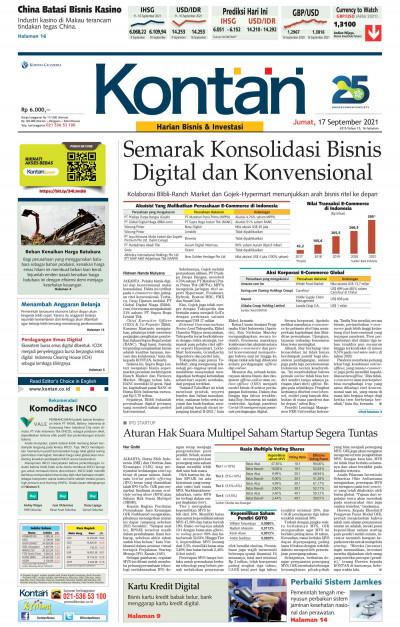 Kontan Harian - 17 September 2021