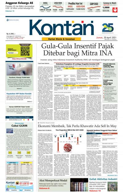 Kontan Harian - 30 April 2021
