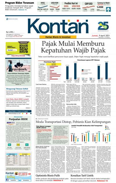 Kontan Harian - 09 April 2021