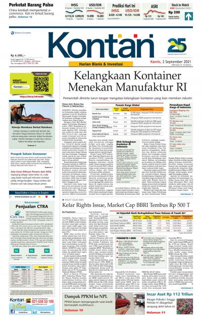 Kontan Harian - 02 September 2021