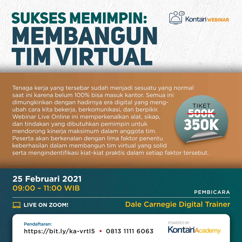 Sukses Memimpin: Membangun Tim Virtual