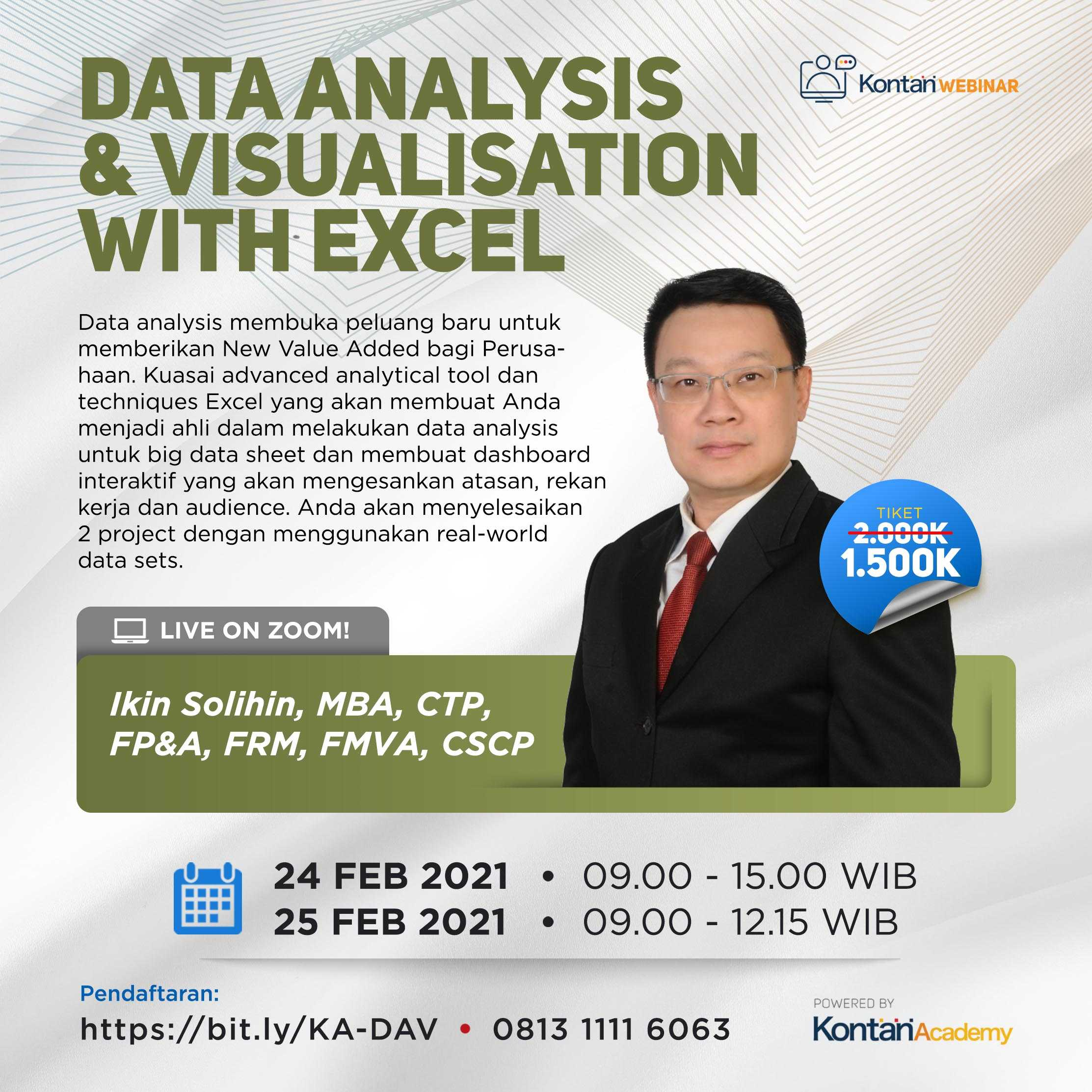 Data Analysis & Visualisation with Excel