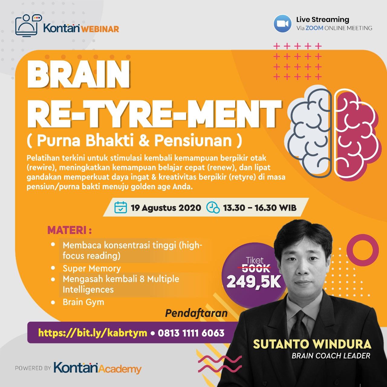 Webinar : Brain Re-Tyre-ment