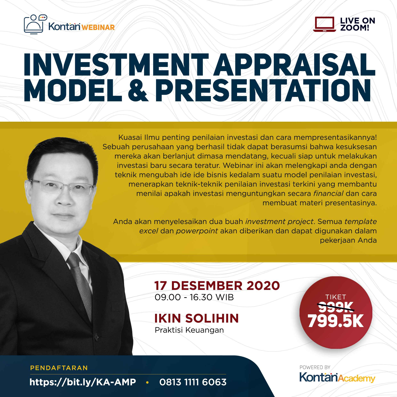Investment Appraisal Model & Presentation