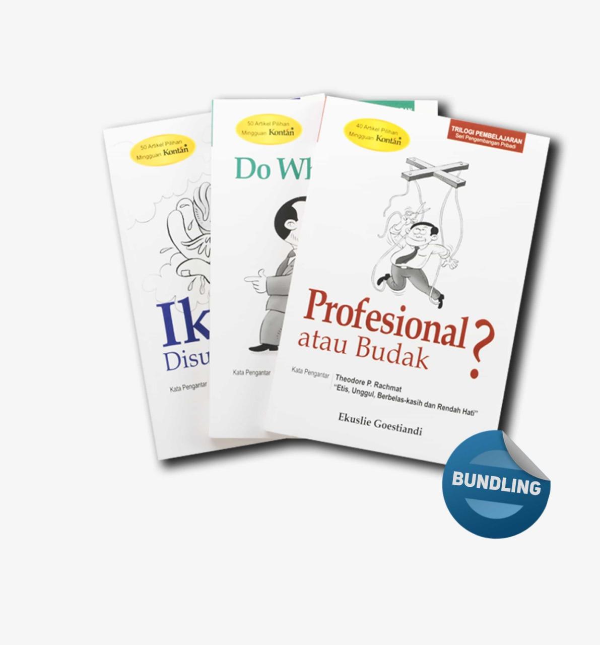 Paket Bundling Trilogi Pembelajaran Seri Manajemen dan Organisasi