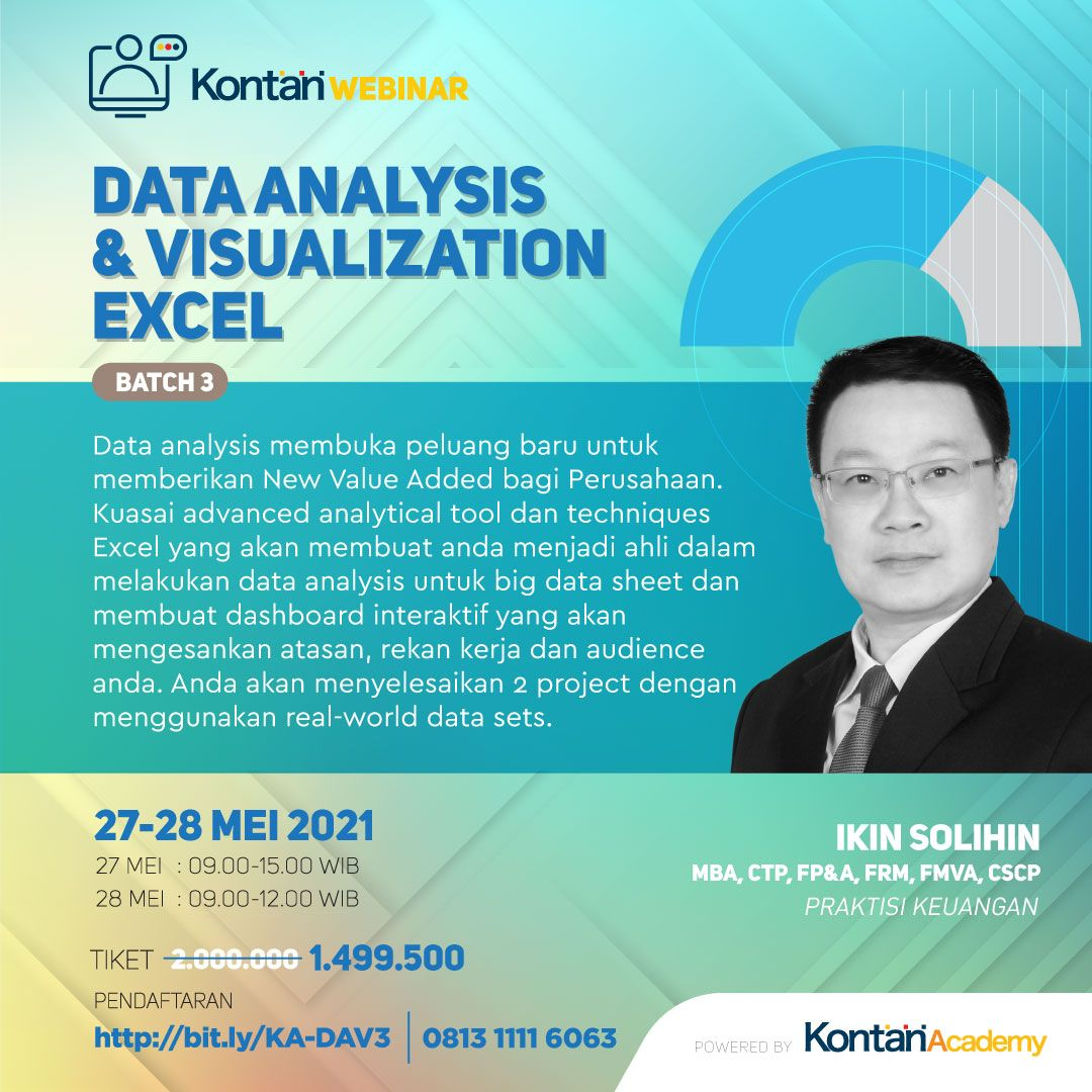 Data Analysis & Visualization with Excel Batch 3