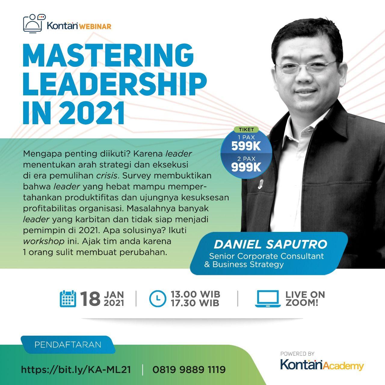 Mastering Leadership in 2021