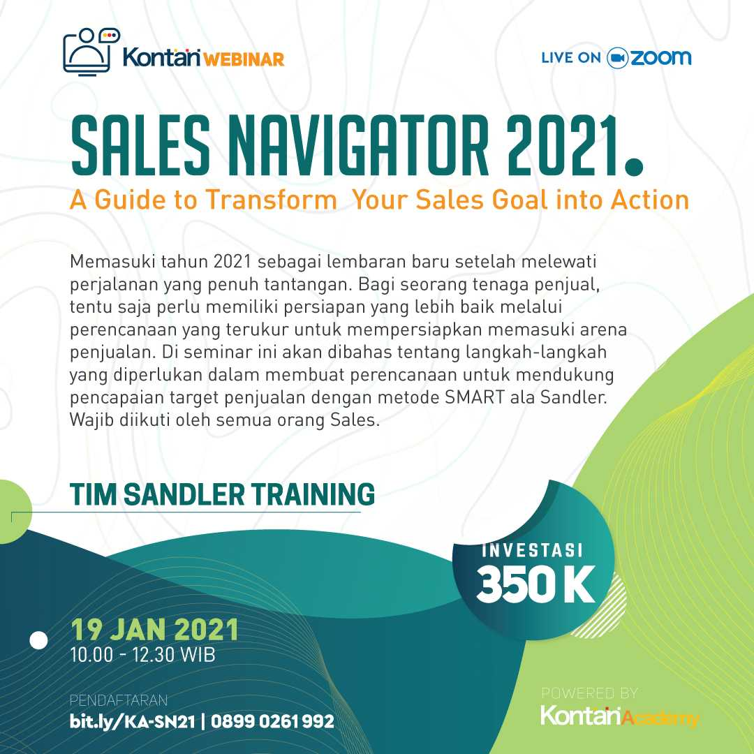 Sales Navigator 2021 : A Guide to Transform Your Sales Goal into Action
