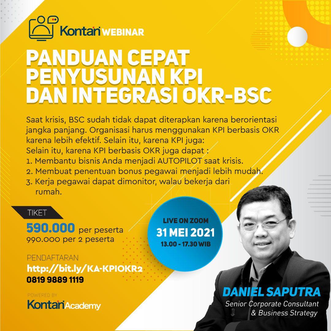 Panduan Cepat  Penyusunan KPI dan Integrasi OKR-BSC
