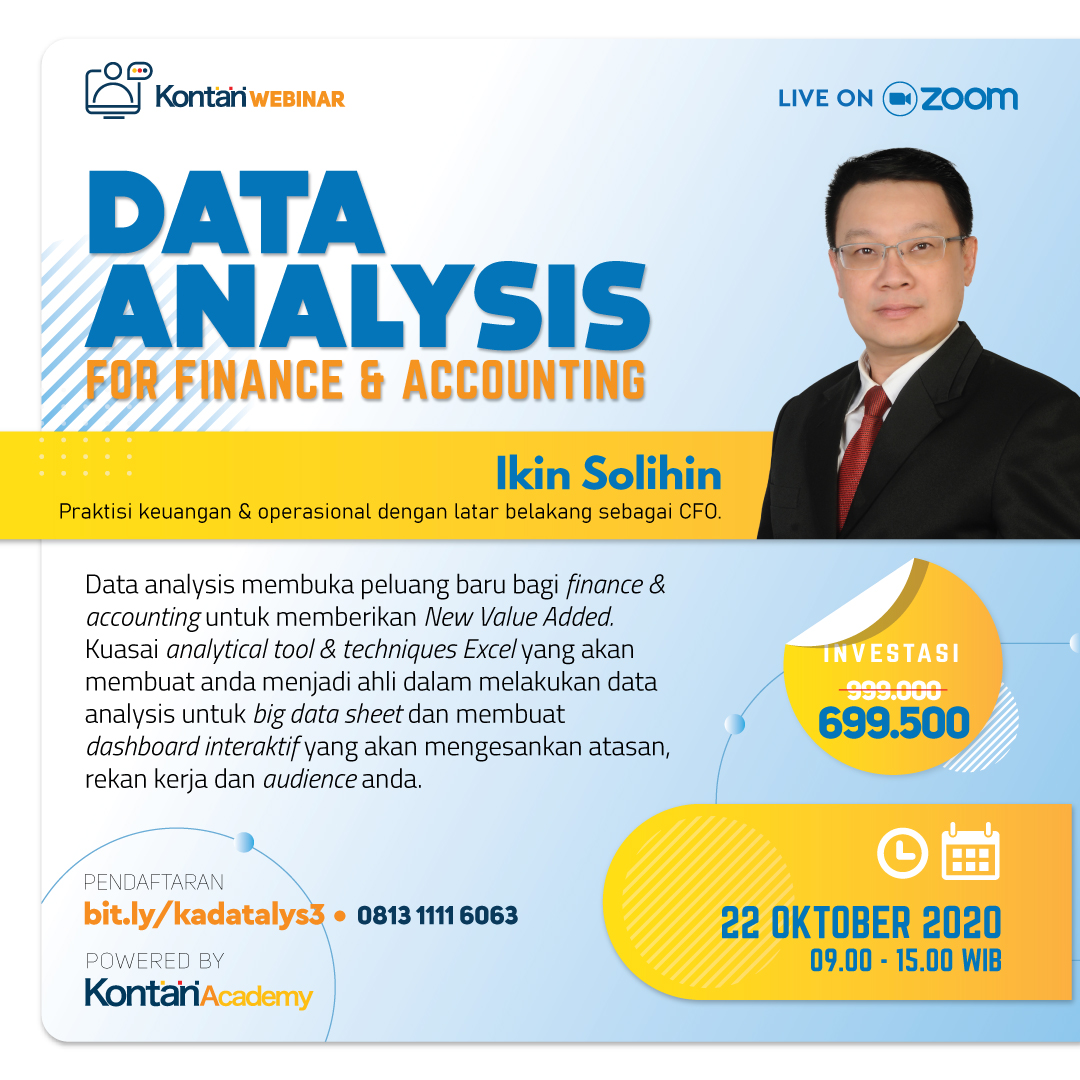 Data Analysis For Finance & Accounting