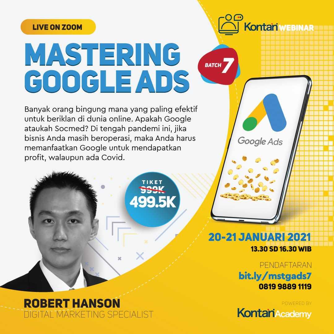 Mastering Google Ads (Batch 7)
