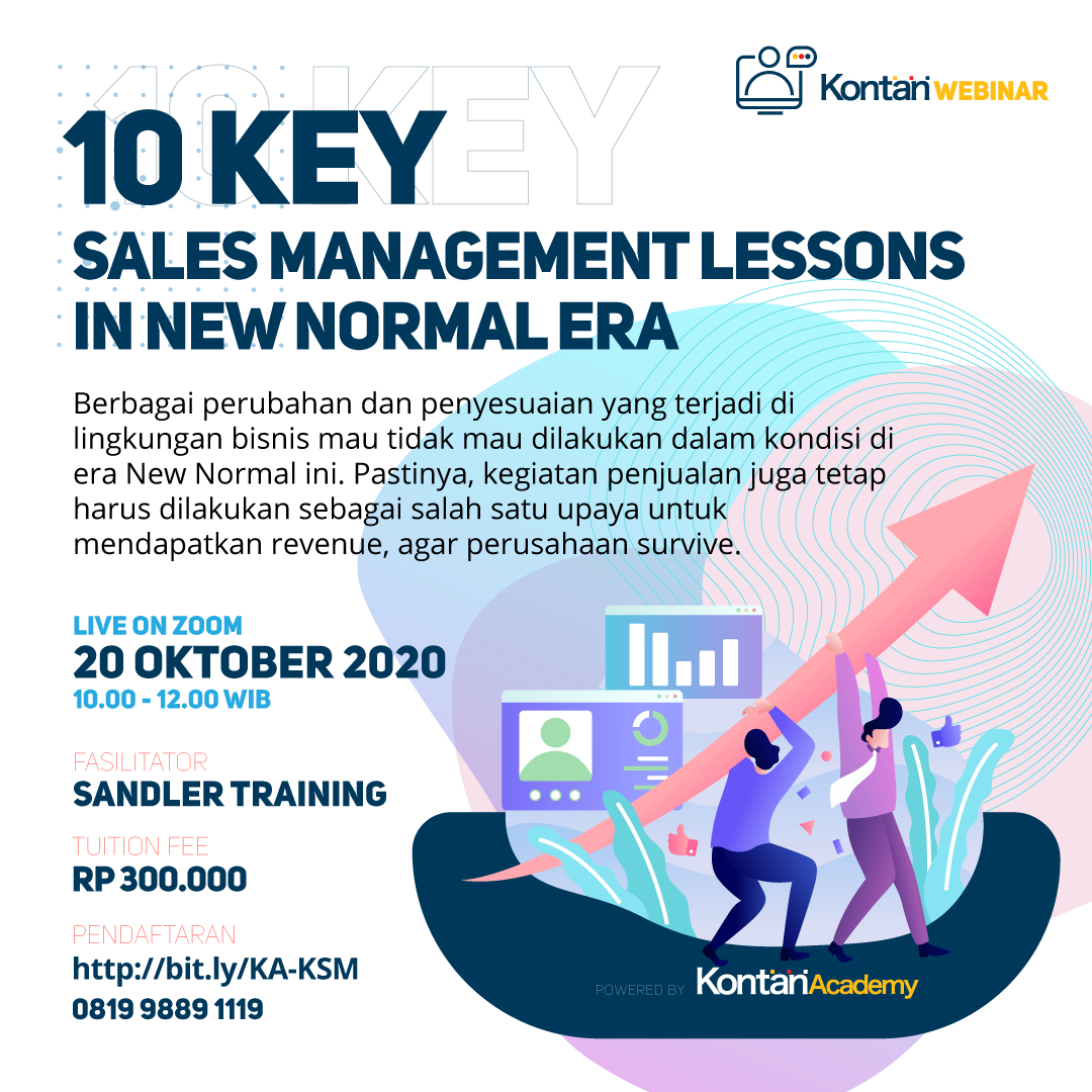 10 Key Sales Management Lessons in New Normal Era