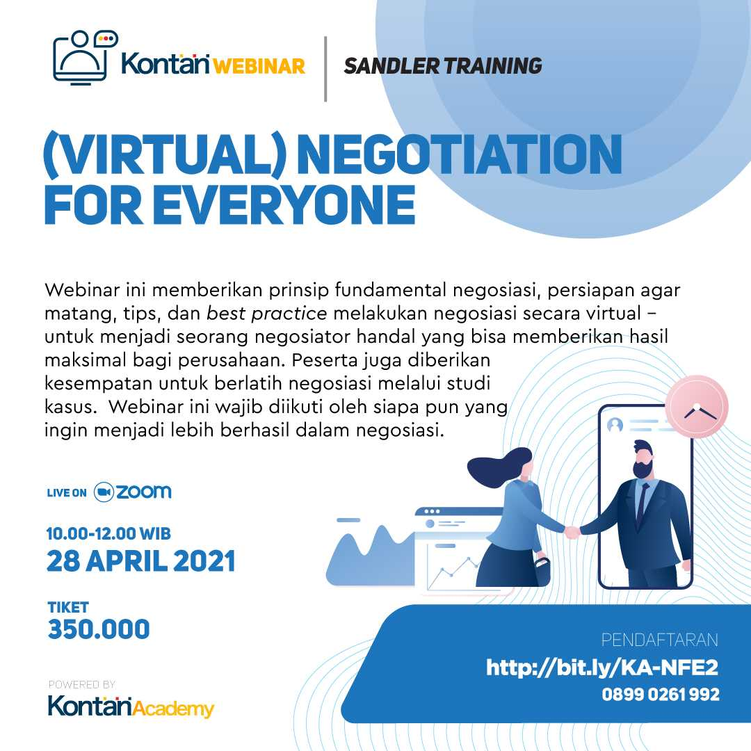 (VIRTUAL) NEGOTIATION FOR EVERYONE Batch 2