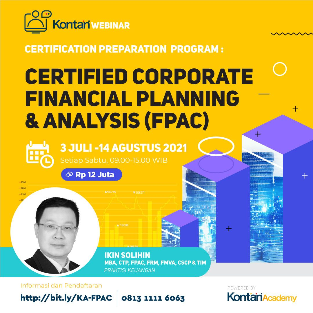 Certification Preparation  Program : Certified Corporate Financial Planning & Analysis (FPAC)