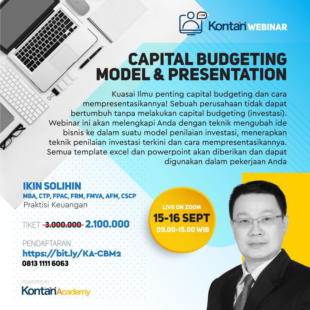 Capital Budgeting Model & Presentation Batch 2
