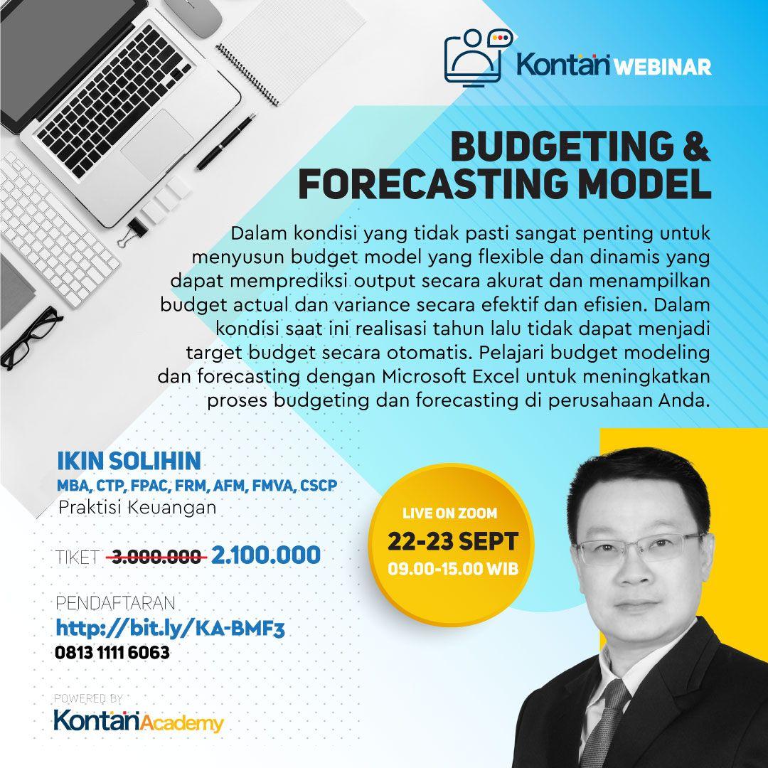 Budget Modeling & Forecasting Batch 3