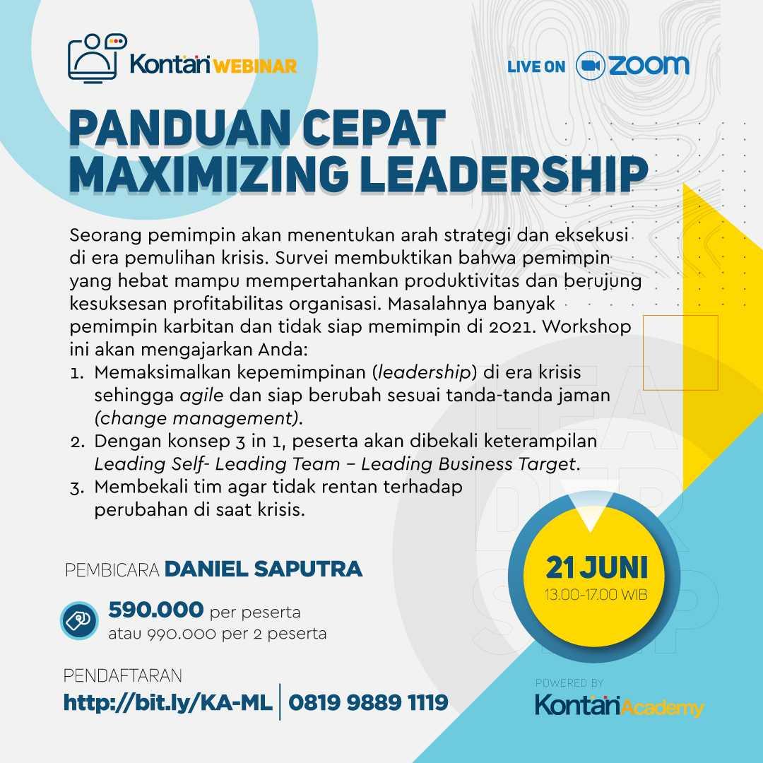 Panduan Cepat Maximizing Leadership