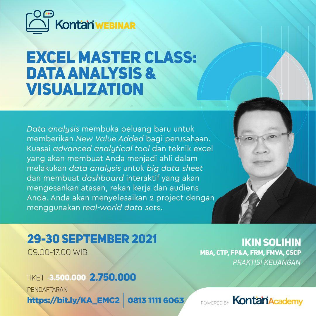 Excel Master Class: Data Analysis & Visualisation Batch 2