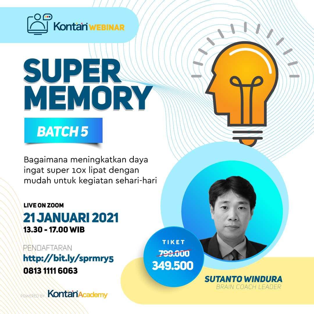 SUPER MEMORYTriple Your Memory Speed, Span & Capacity Easily