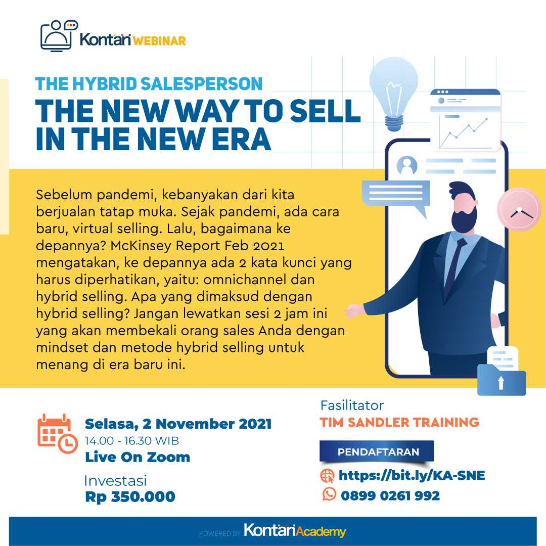 The Hybrid Salesperson The New Way to Sell in The New Era