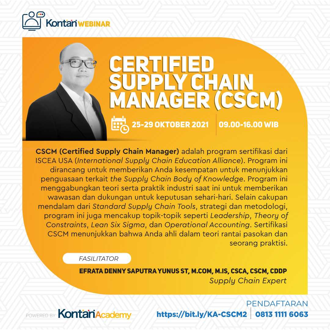 Certified Supply Chain Manager (CSCM) Batch 2
