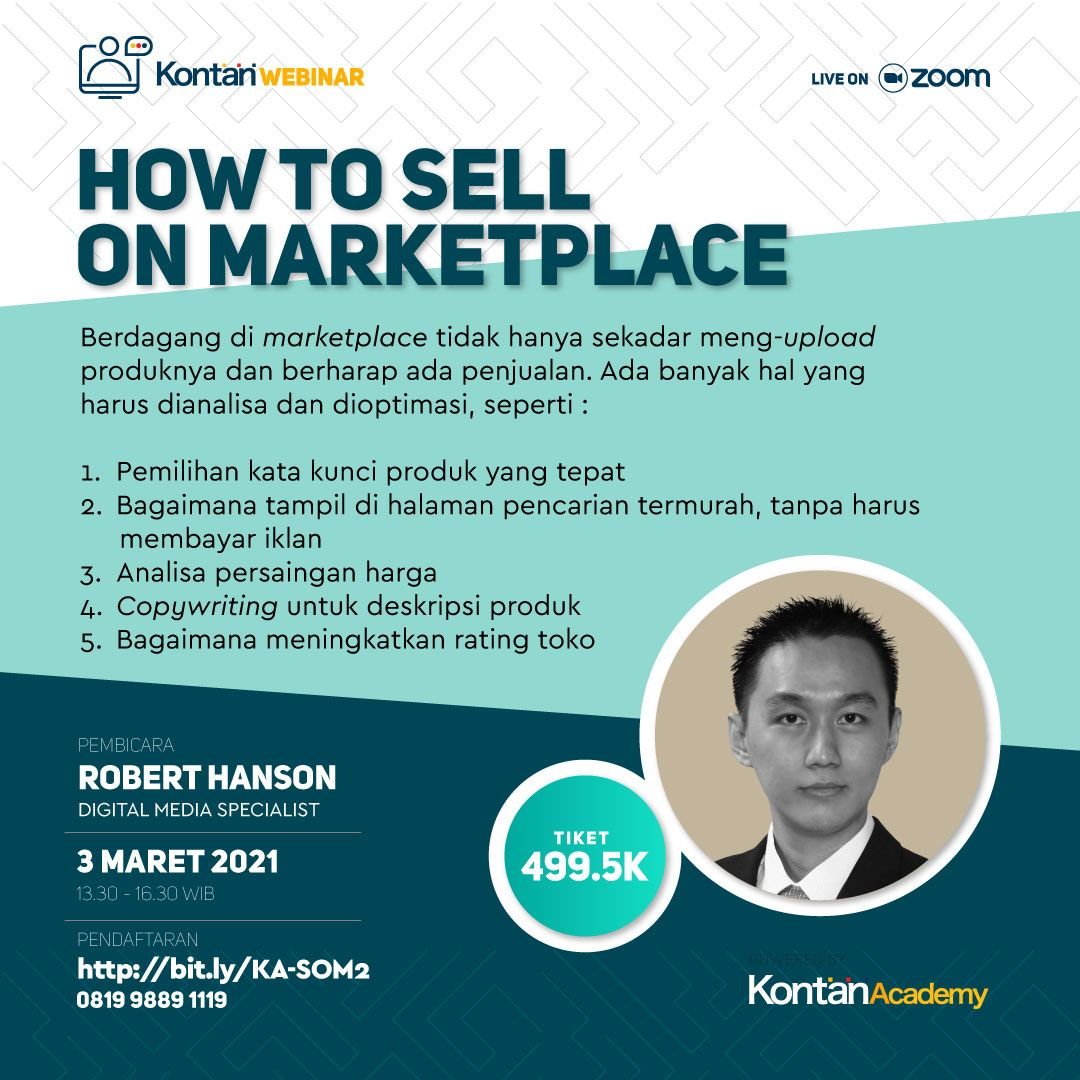 How To Sell On Marketplace (Batch 2)