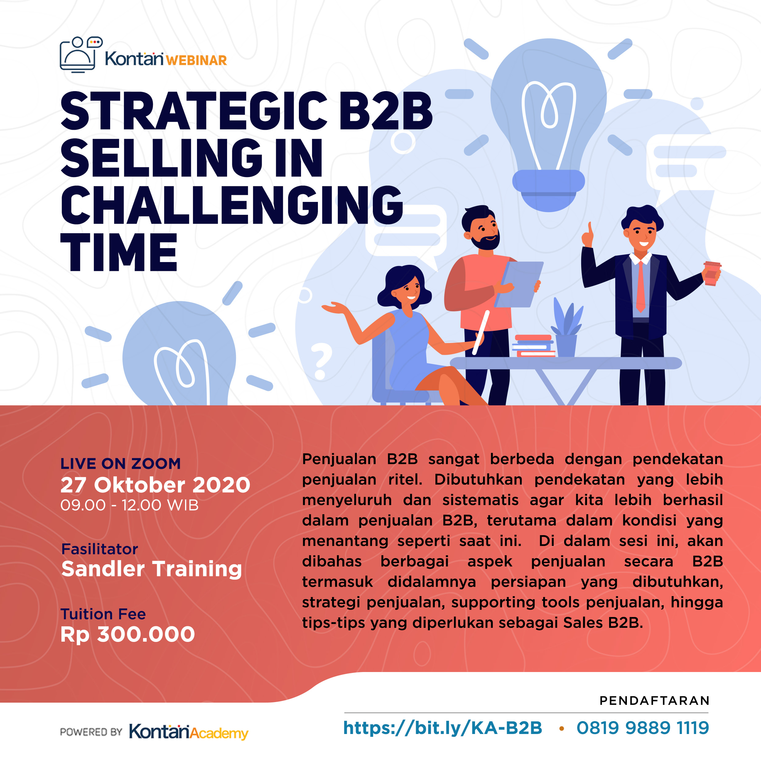 Strategic B2B Selling in Challenging Time