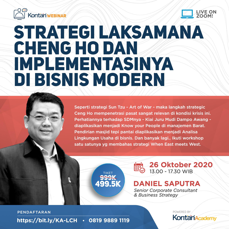 Strategi Laksamana Cheng Ho dan implementasinya di bisnis modern