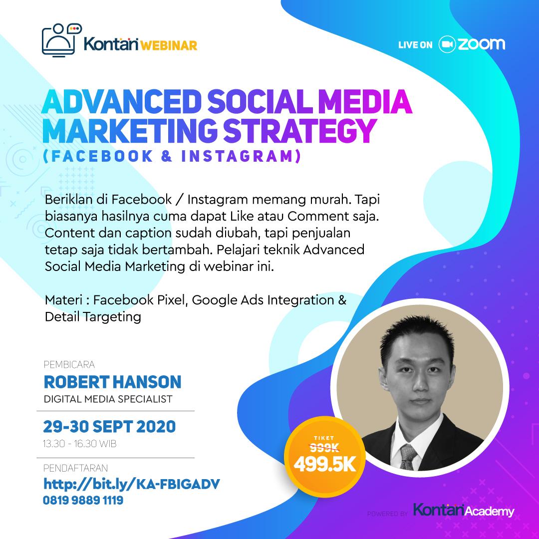 Advanced Social Media Marketing Strategy (Facebook & Instagram)
