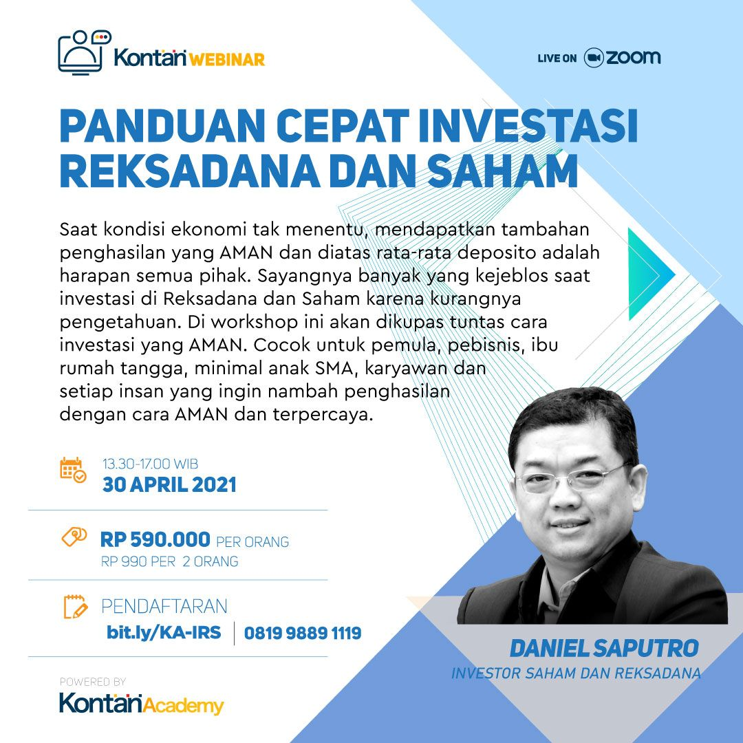 Panduan Cepat Investasi Reksadana dan Saham