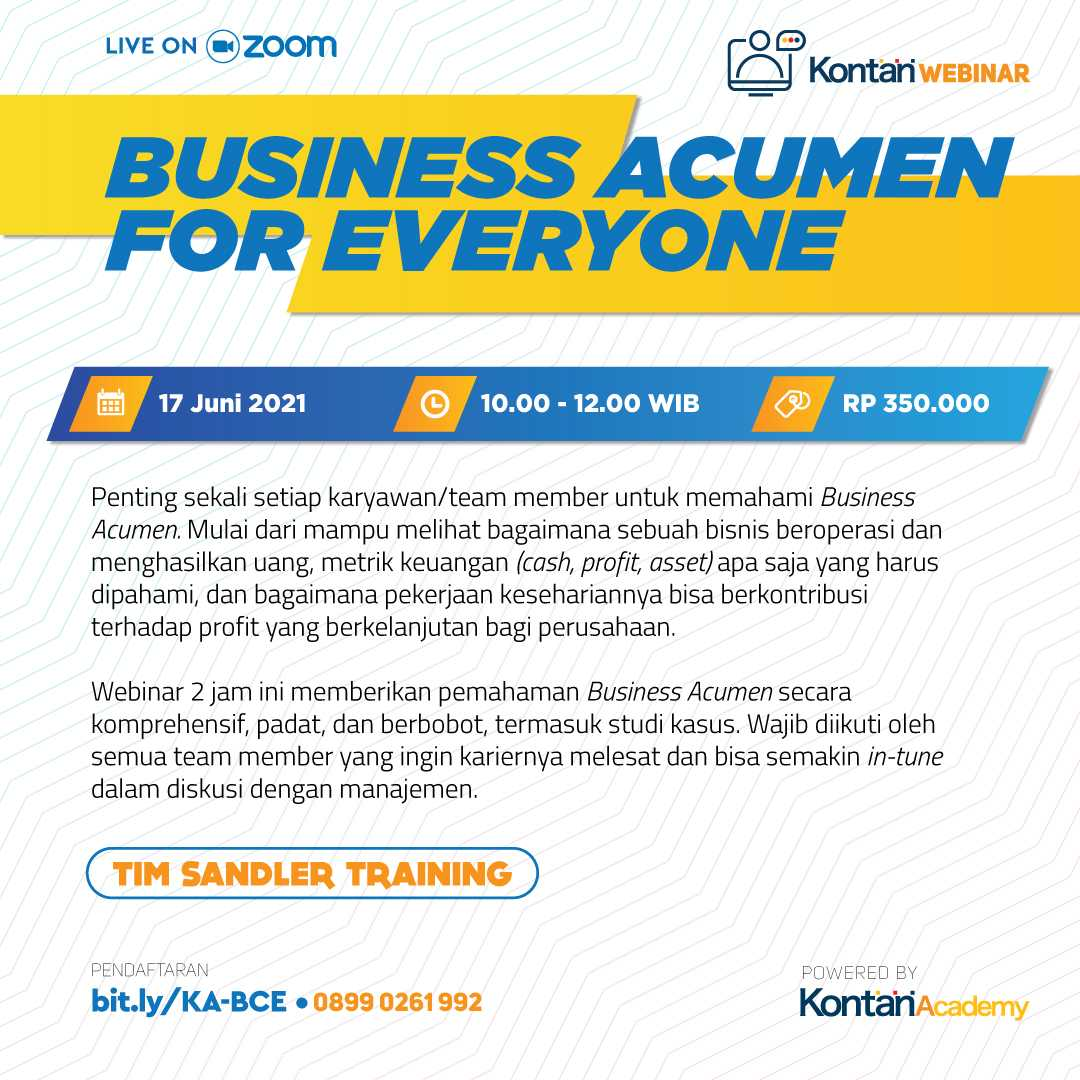 BUSINESS ACUMEN FOR EVERYONE