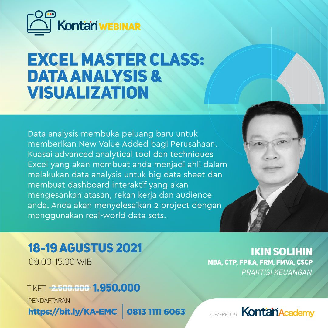 Excel Master Class: Data Analysis & Visualisation
