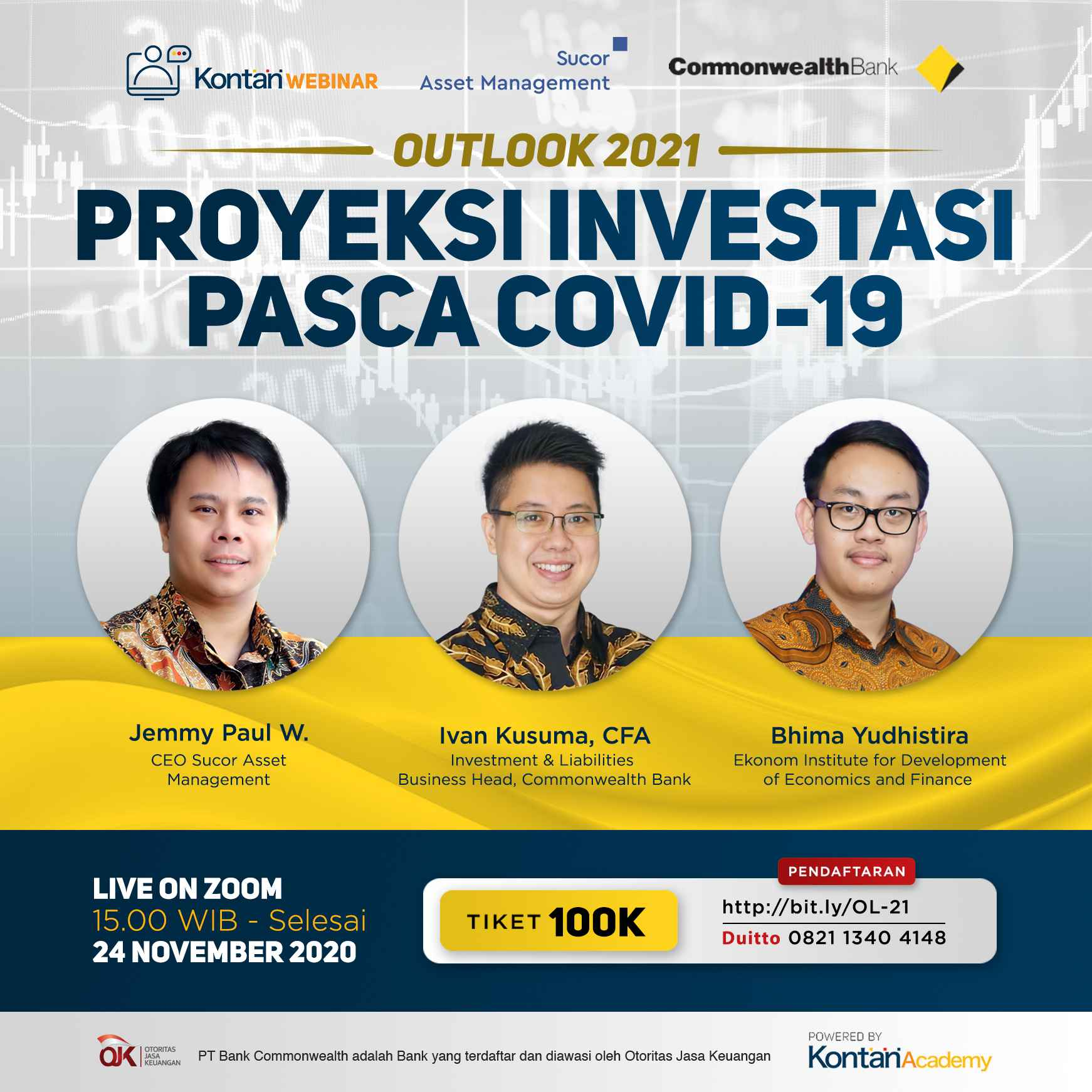 Outlook 2021: Proyeksi Investasi Pasca Covid-19