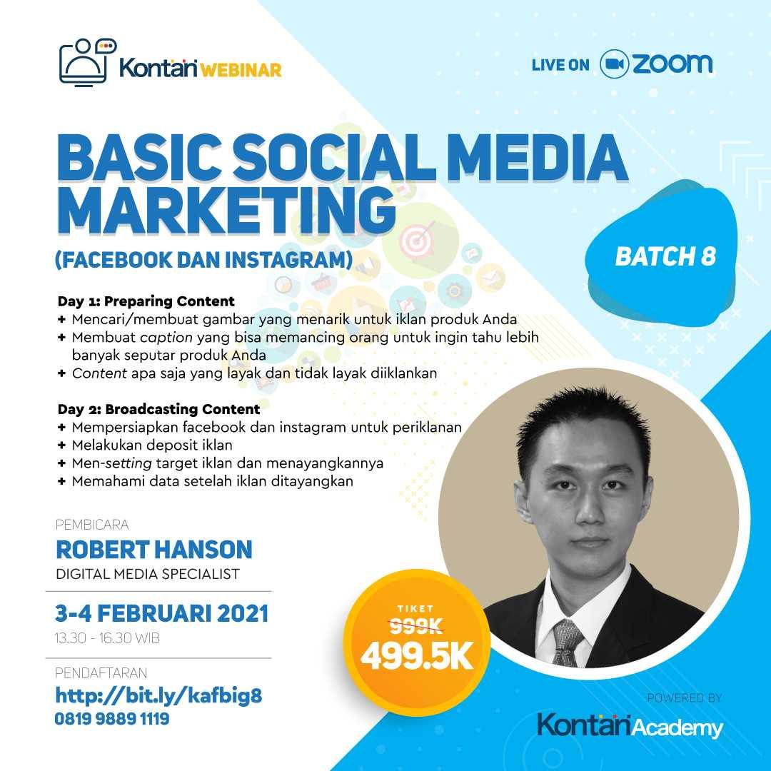 Basic Social Media Marketing Strategy (Facebook & Instagram) Batch 8