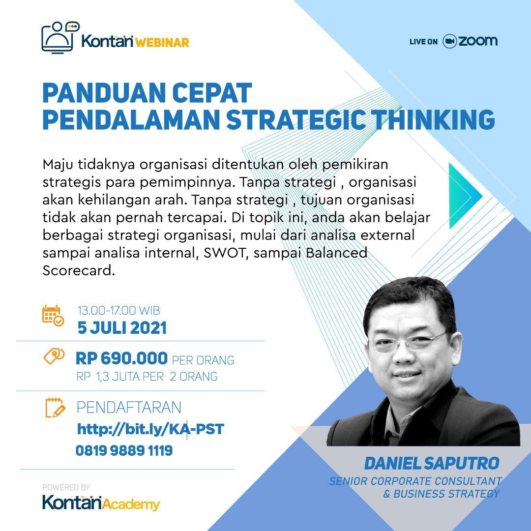 Panduan Cepat Pendalaman Strategic Thinking
