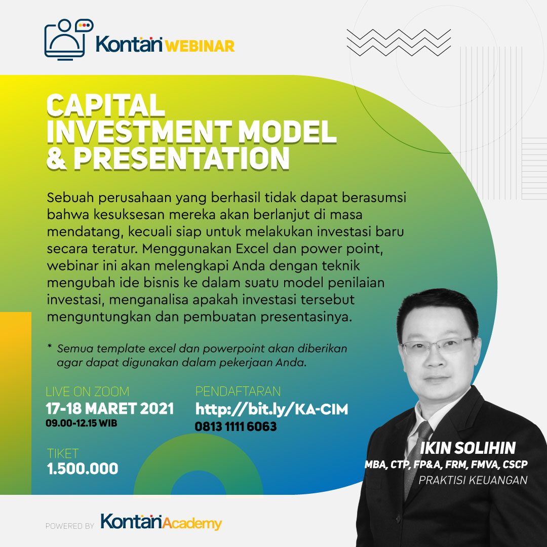 Capital Investment Model & Presentation