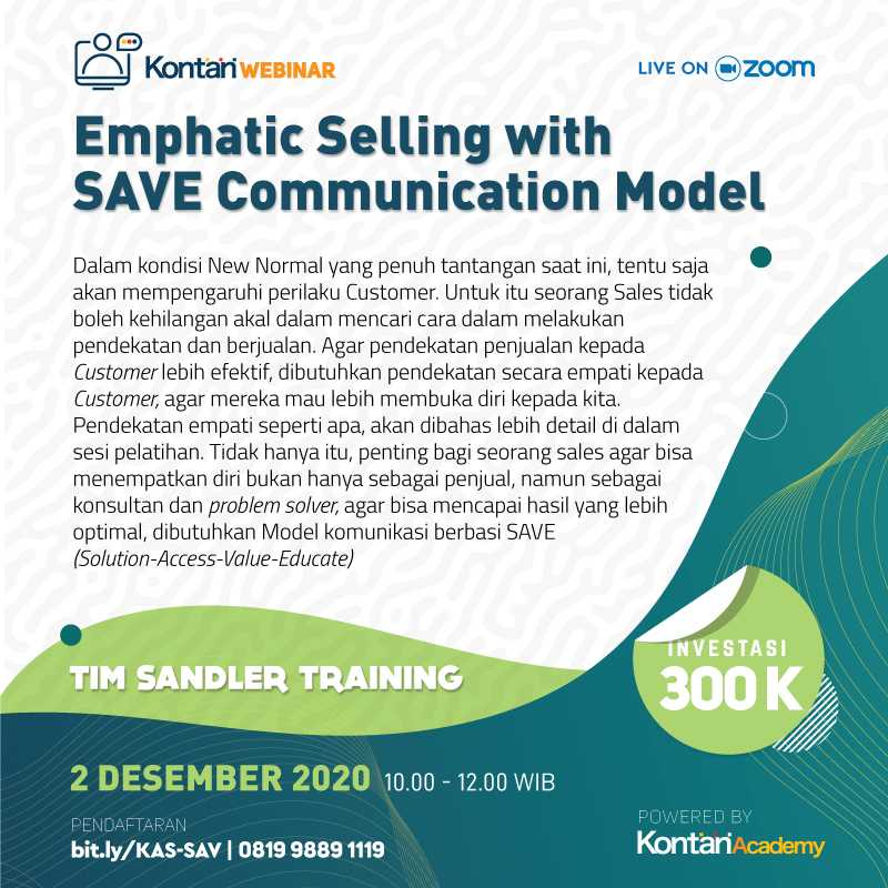Emphatic Selling with SAVE Communication Model