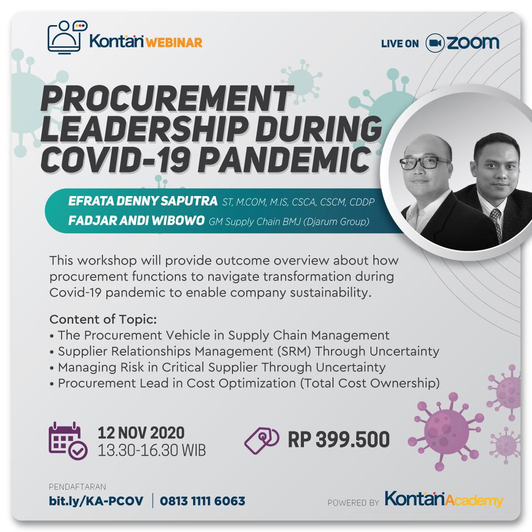 Procurement Leadership During Covid-19 Pandemic