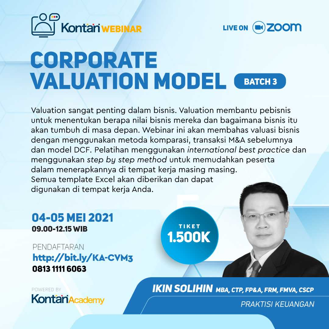 Corporate Valuation Model Batch 3