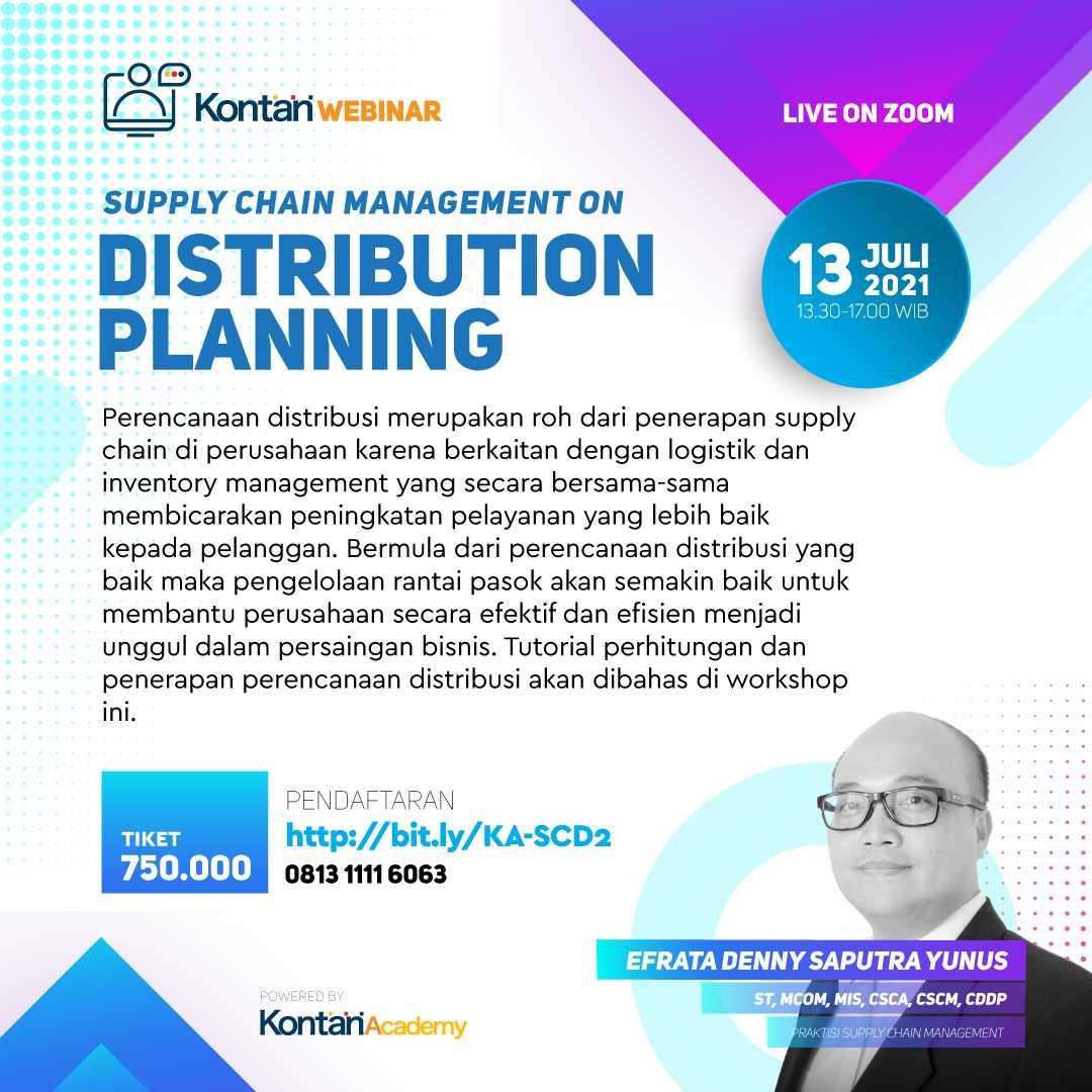 Supply Chain Management on Distribution Planning Batch 2