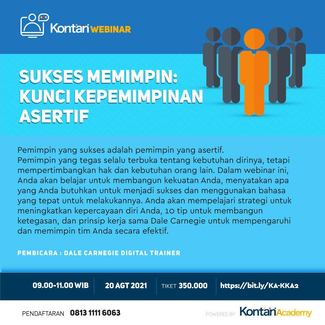 Sukses Memimpin: Kunci Kepemimpinan Asertif Batch 2