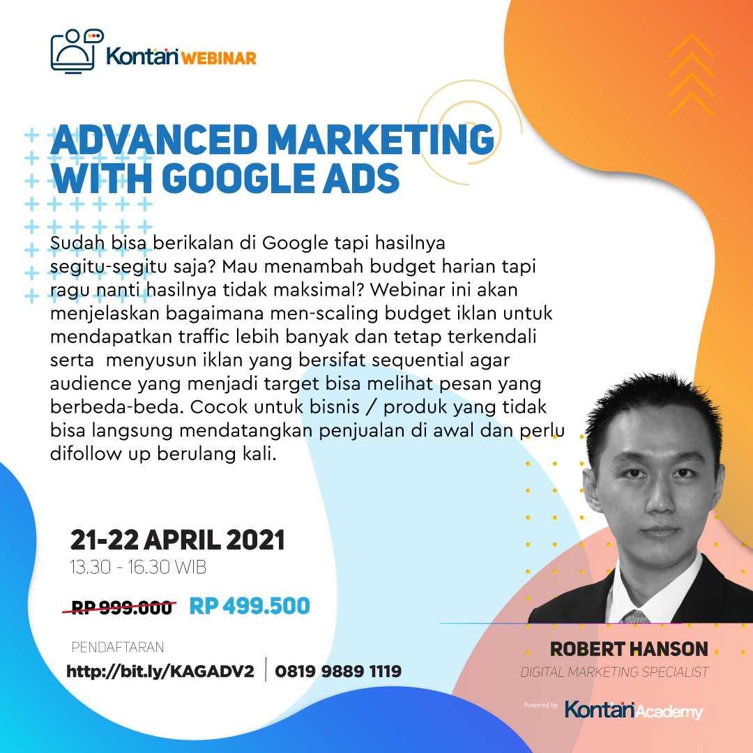 Advanced Marketing with Google Ads (Batch 2)
