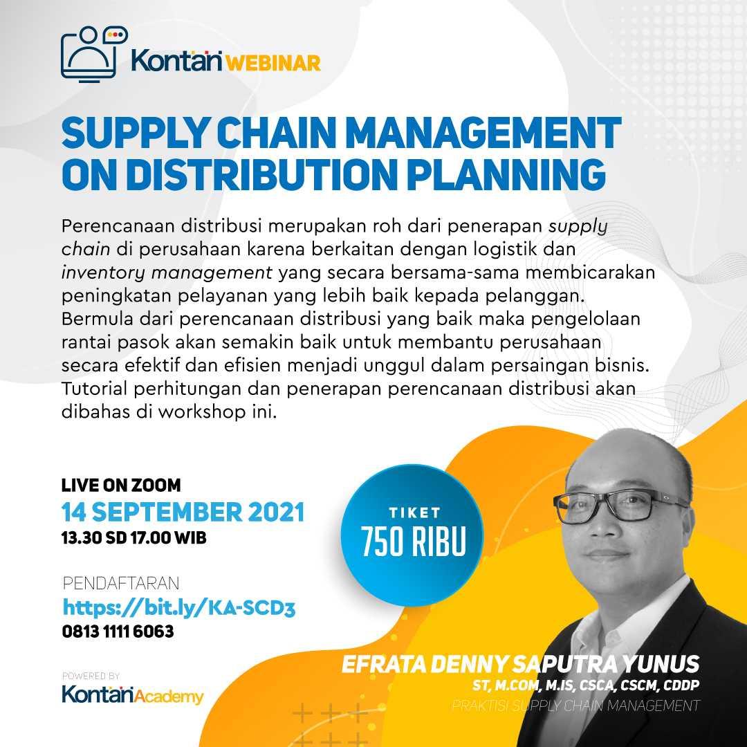 Supply Chain Management on Distribution Planning Batch 3